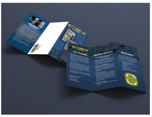 Pocket Cash ATMs Tri-Fold Brochure