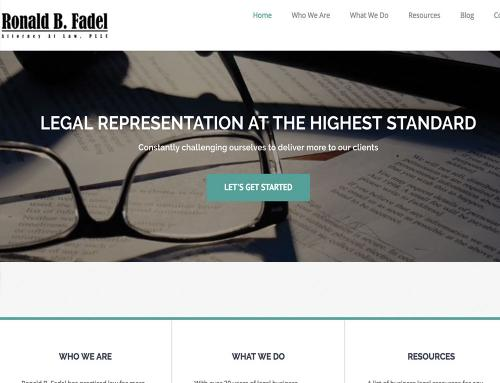 Ron Fadel Website