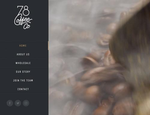 78 Coffee Co. Website