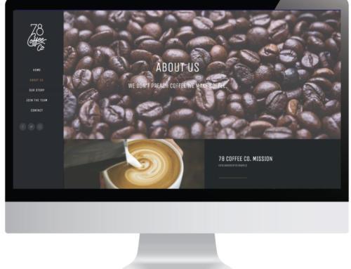 78 Coffee Co. Website